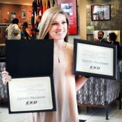 2017 Student Employee of the Year awards ceremony