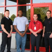 Ceradyne Safety Co-op Students
