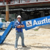 Shawn Gentry, SSE major at Austin Commercial in Dallas, TX