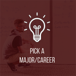 pick a major/career