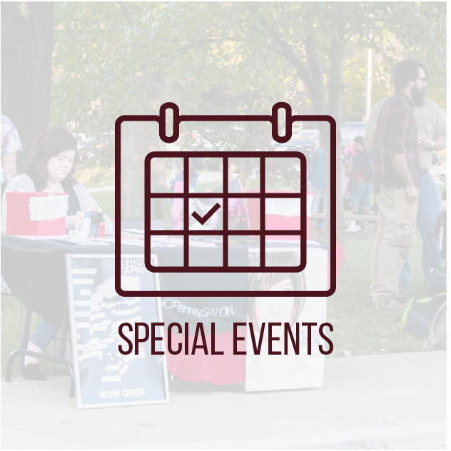 Special Events button
