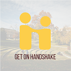 Handshake button