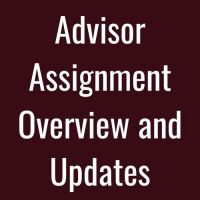 advisor assignment
