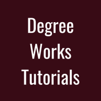 DegreeWorksTutorials