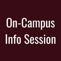 on campus info session